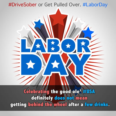 labor day DWI